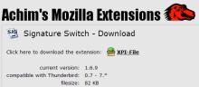 Achim's Mozilla Extensions